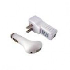 USB Car + Wall Home Charger for Apple iPod Nano / Touch / Shuffle 1 2 3 4 5 6 7