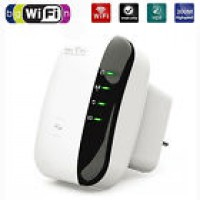 Wireless-N Wifi Repeater AP Router 300Mbps 802.11 Signal Booster Range Extender